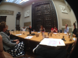 Discussion in the Gipsen room