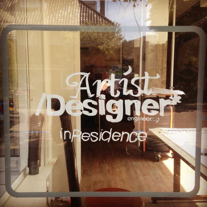 Artist/designer/engineer in residence
