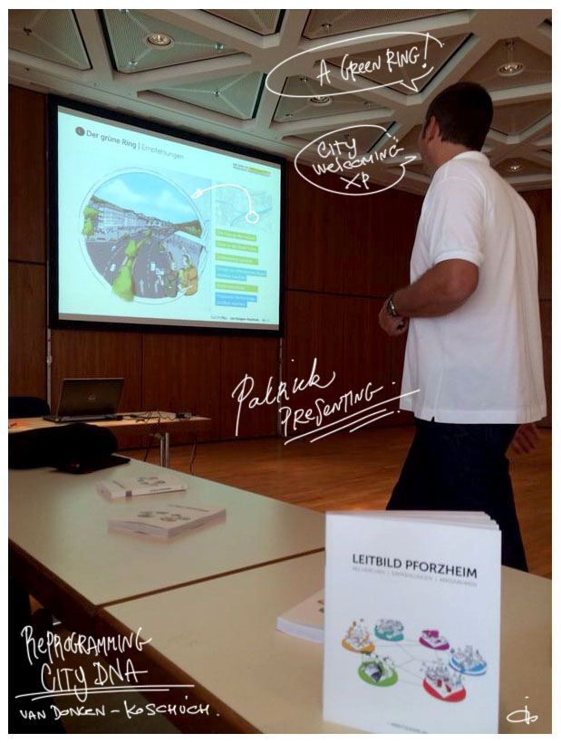patrick presenting